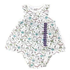 Carters Toddler Girls Dress Romper 24 months